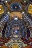 Rzym WŁOCHY, CZERWIEC, - 01: St Peter bazylika w Watykan, Rzym, Włochy na Czerwu 01, 2016 Zdjęcia Royalty Free
