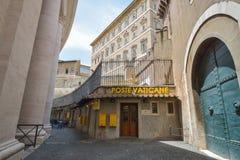 Rzym WŁOCHY, CZERWIEC, - 01: Watykańska poczta w Rzym, Włochy na Czerwu 01, 2016 Fotografia Royalty Free