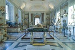 Rzym WŁOCHY, CZERWIEC, - 01: Watykański muzeum w Rzym, Włochy na Czerwu 01, 2016 Zdjęcia Stock
