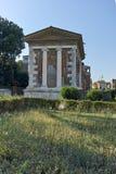 RZYM WŁOCHY, CZERWIEC, - 22, 2017: Zadziwiający widok świątynia Portunus w mieście Rzym Obrazy Royalty Free