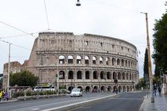 Rzym WÅ'ochy, Maj, - 01, 2018: Colosseo amfiteatr w Rzym, WÅ'ochy Dziejowy zabytek i antyczna budynek architektura Colosseo fotografia royalty free