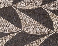 Rzym, Włochy - 26 2018 Maj: Mozaika w skąpaniach Caracalla Zdjęcia Royalty Free