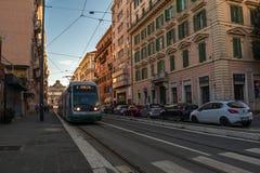 11/09/2018 - Rzym, Włochy: Niedzieli popołudnie w centrum miasta, r zdjęcia royalty free