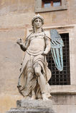 RZYM WŁOCHY, STYCZEŃ, - 27, 2010: Statua święty Michael Zdjęcie Stock