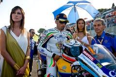 RZYM WŁOCHY, WRZESIEŃ, - 30 2007 Superbike mistrzostwo, Vallelu Obrazy Stock