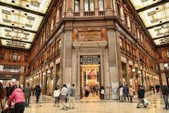 Rzym, Włochy - APRI 9, 2016: Galleria Alberto Sordi w Rzym na A Zdjęcie Royalty Free