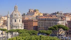 Rzym, Włochy linia horyzontu Obrazy Stock