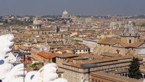 Rzym, Włochy linia horyzontu Zdjęcie Stock