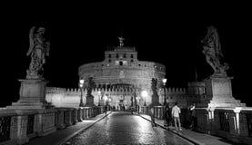 Rzym Włochy, Lipiec, - 10, 2017: santÂ'Angelo kasztel, Rzym Zdjęcia Royalty Free
