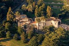 Rzym, Włochy: Ogródy watykanu stan Obrazy Royalty Free