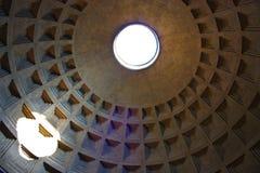 Rzym, Włochy. Panteon Zdjęcia Stock