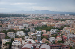 Rzym: Widok z lotu ptaka Zdjęcie Stock