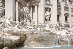 Rzym zabytek - Trevi fontanna (Fontana Di Trevi) obrazy royalty free