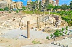Rzymianin ruiny Obrazy Stock