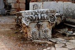 Rzymianin ruiny w Ephesus, Turcja Fotografia Stock
