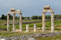 Rzymianin ruiny w Ephesus, Turcja Zdjęcia Royalty Free
