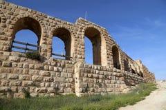 Rzymianin ruiny w Jordańskim mieście Jerash, Jordania (Gerasa dawność) Zdjęcia Stock