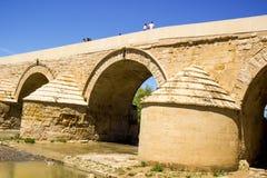 Rzymianina bridżowy widok Zdjęcia Royalty Free
