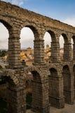 Rzymianina kamienny akwedukt Zdjęcia Royalty Free