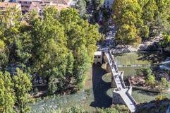 Rzymianina most, lokalizować w środkowej części miasteczko, swój pa Fotografia Royalty Free