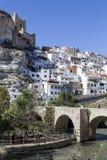Rzymianina most, lokalizować w środkowej części miasteczko, swój pa Zdjęcie Stock