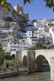 Rzymianina most, lokalizować w środkowej części miasteczko, swój pa Zdjęcia Stock