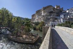 Rzymianina most, lokalizować w środkowej części miasteczko, swój pa Obrazy Stock