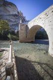 Rzymianina most, lokalizować w środkowej części miasteczko, swój pa Zdjęcie Royalty Free