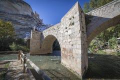 Rzymianina most, lokalizować w środkowej części miasteczko, swój pa Obraz Stock