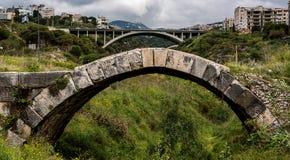 Rzymianina most, Maameltein Zdjęcia Stock