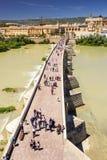 Rzymianina most przy cordobą Zdjęcie Royalty Free