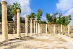 Rzymianina skąpania dom w antycznym mieście zakład Shean zdjęcia royalty free