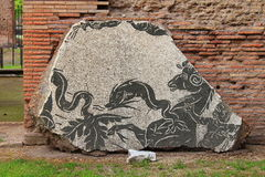 rzymska antyczna mozaika Obrazy Royalty Free