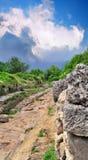 rzymska góry antyczna droga Fotografia Stock