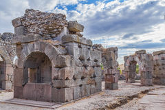 rzymski asklepion pergamum zdjęcie royalty free