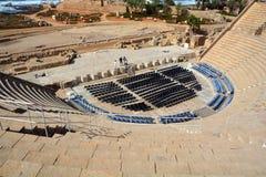 rzymski Caesarea teatr Fotografia Stock