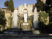 rzymski fontanny tivoli Zdjęcia Stock