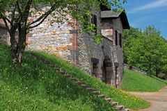 rzymski fortu saalburg Fotografia Stock