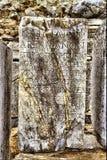 rzymski nagrobek w Ephesus Antycznym mieście zdjęcia stock