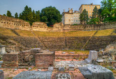 rzymski teatr Trieste fotografia royalty free
