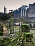 rzymskie forum ruiny Zdjęcia Royalty Free