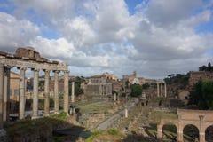 rzymskie forum ruiny fotografia royalty free