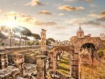 rzymskie Italy ruiny Rome fotografia royalty free