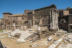 rzymskie Italy ruiny Rome Zdjęcie Stock