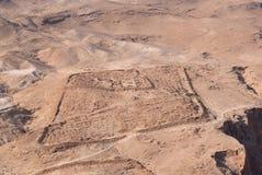 rzymskie obozowisko ruiny Zdjęcia Royalty Free
