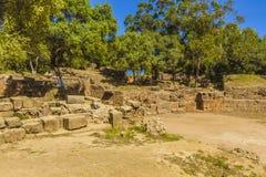 rzymskie ruiny Obraz Royalty Free