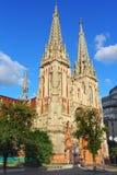 Rzymskokatolicka katedra Obrazy Royalty Free