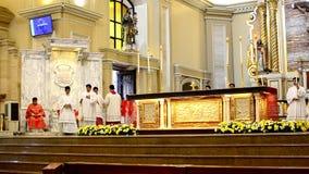 Rzymskokatolicki ołtarza msza rytuału wprowadzenie zbiory wideo