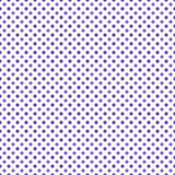 Répétition pourpre et blanche de Dot Abstract Design Tile Pattern de polka Images libres de droits