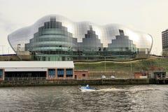 Sábio sobre o rio Tyne Imagens de Stock Royalty Free